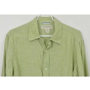 Banana Republic Medium Long Sleeve Linen Shirt